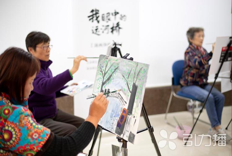 山塘老居民手繪姑蘇橋 倡導古城保護